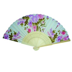 Silk Fan - Japanese Floral - Original Source