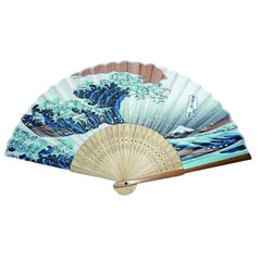 Silk Fan - The Great Wave - Original Source
