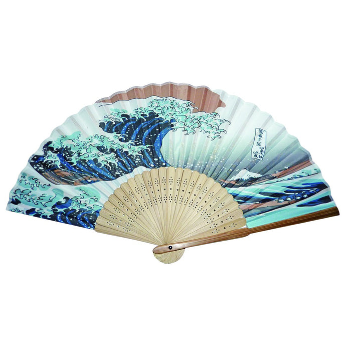 Silk Fan - The Great Wave
