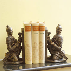 Terra Cotta Soldier Bookends - Original Source