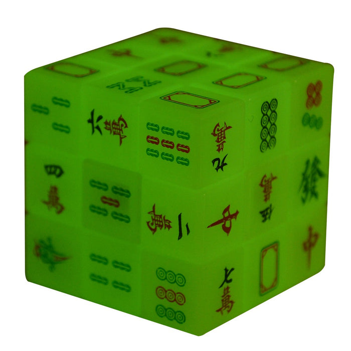 Glow in the Dark Mah Jong Rubik's Cube - Original Source