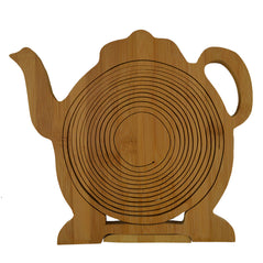 Foldable Bamboo Fruit Baskets - Teapot
