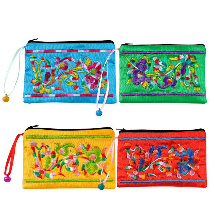 Embroidered Pouches - Assorted - Original Source