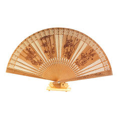 Sandalwood Fan - Floral