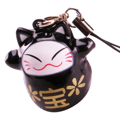 Hanger - Lucky Cat - Black - Original Source