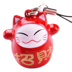 Hanger - Lucky Cat - Red