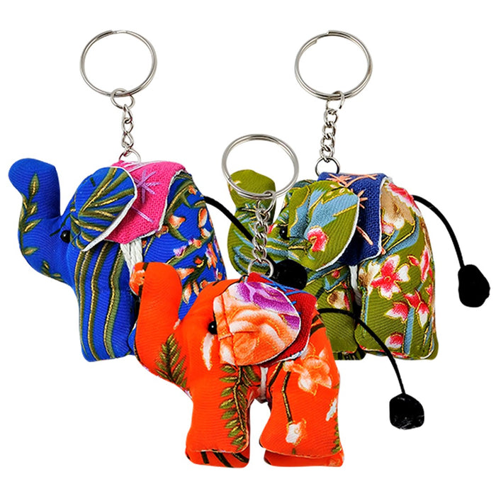 Key Chain - Lucky Elephant - Assorted Colors