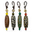 Tibetan Dzi Bead Key Chain - Original Source