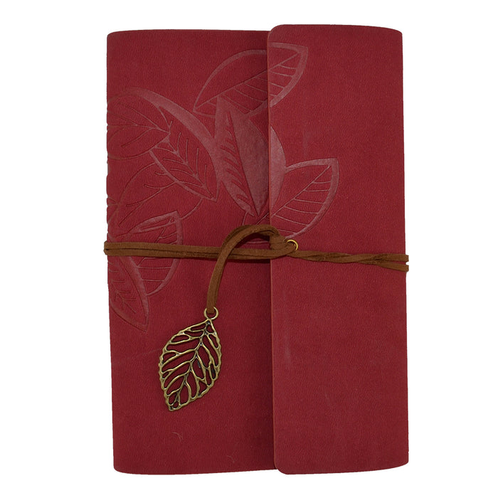 Journal Leaf - Red - Original Source