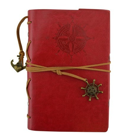 Journal - Compass - Red