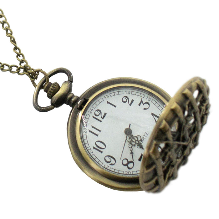 Bamboo Vintage Pocket Watch