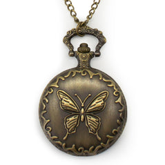 Vintage Pocket Watch - Butterfly - Original Source