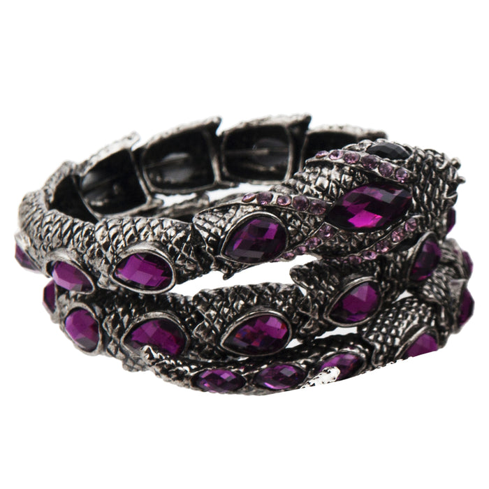 Snake Bracelet - Purple - Original Source