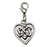 Eternal Heart Celtic Charm Key Chain