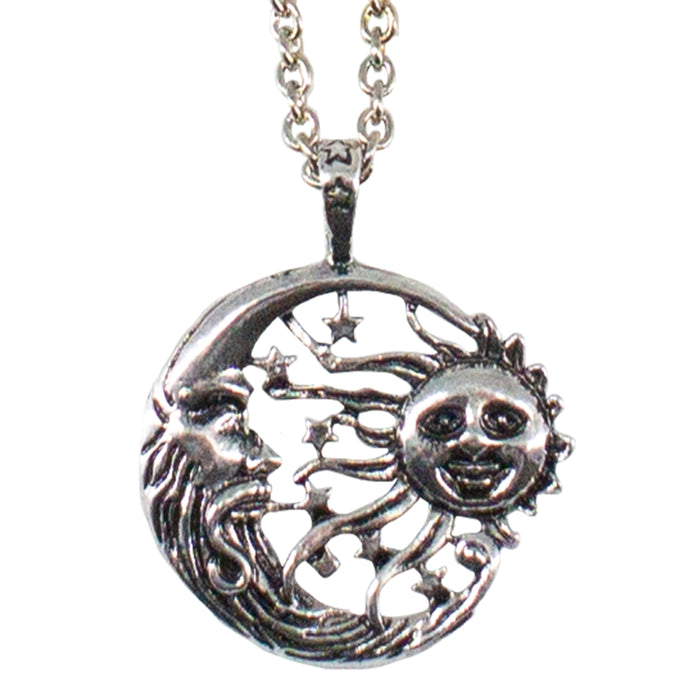 Sun and Moon Necklace - Original Source