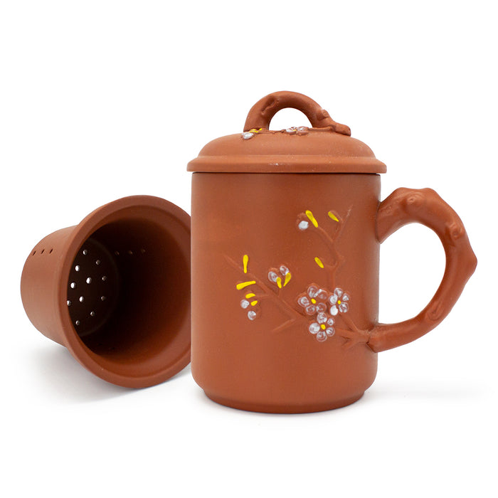 Floral Yi Xing Clay Mug - Original Source