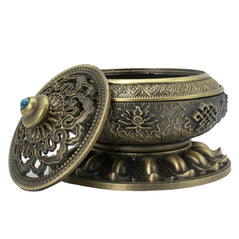 Tibetan Brass Incense Burner - Original Source