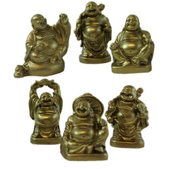 Buddha Set - Resin - Gold - Original Source