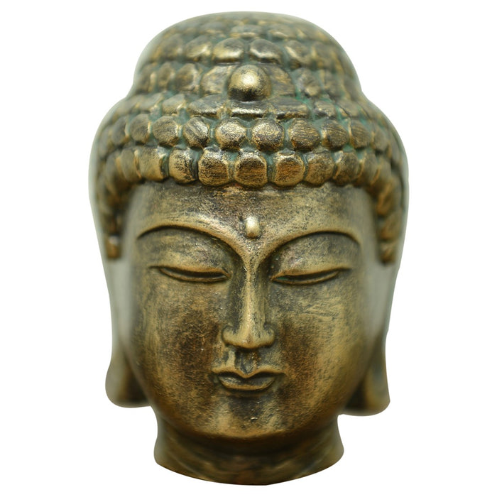 Buddha Head - Brass Finish - Original Source