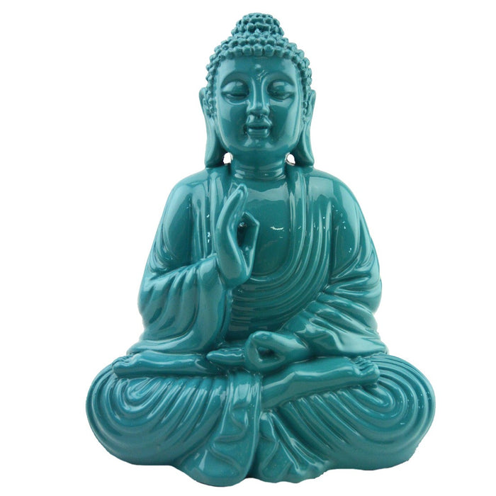 Colorful Buddha - Turquoise - Original Source