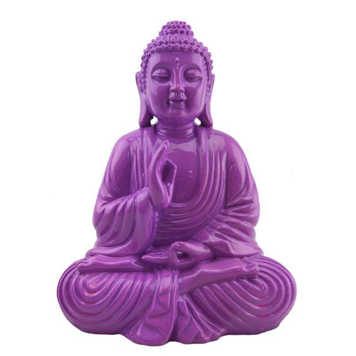 Colorful Buddha - Purple
