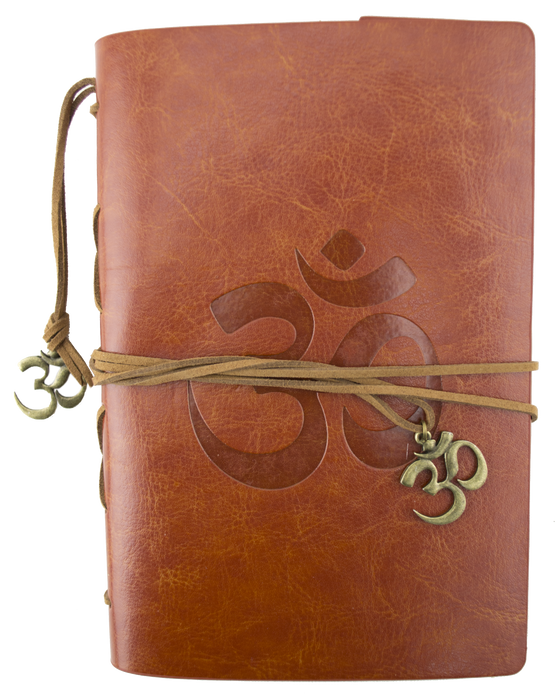 Leather Journal - Om - Brown