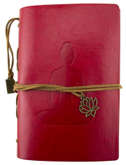 Leather Journal - Yoga - Red - Original Source