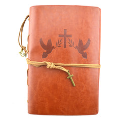 Leather Journal - Faith - Brown - Original Source