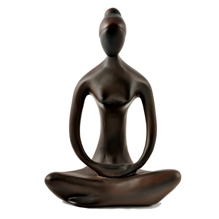 Yoga Statue - Full Lotus - Resin - Small