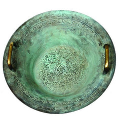 Tibetan Water Dancing Basin - Dragon