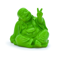 Peace Buddha – Green Resin - Original Source