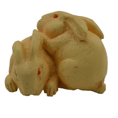 Japanese Netsuke - Rabbit Pair
