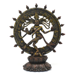 Dancing Shiva - Brass Finish