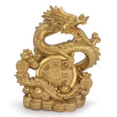 Dragon with Gold Coins - Original Source