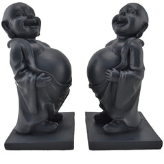 Happy Buddha Bookends - Original Source