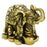 Elephant - Polystone - Gold - Original Source
