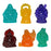 Color Resin Buddha - Set of 6 - Original Source