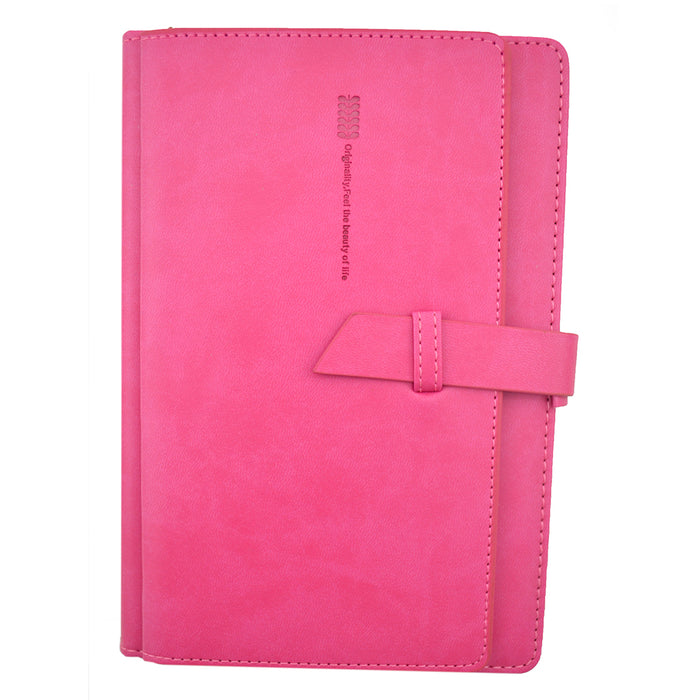 Leather Wallet Pink