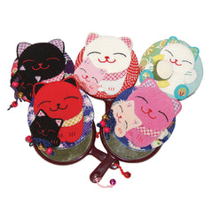 Mirror- Lucky Cat - Assorted Colors