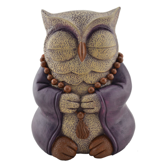 Meditative Owl - Cast Resin - Original Source