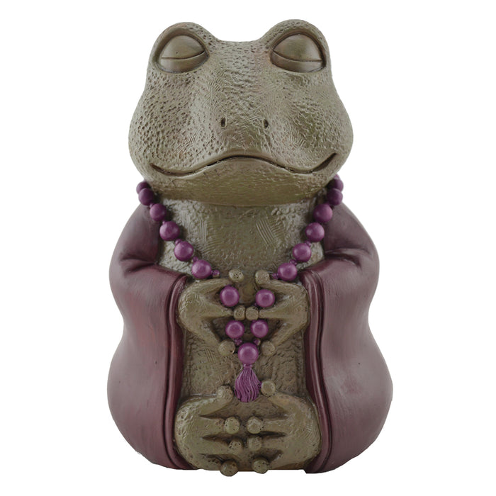 Meditative Frog - Cast Resin - Original Source