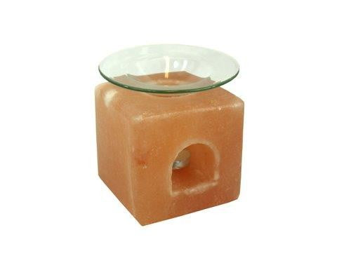 Salt Block Oil Burner - Original Source
