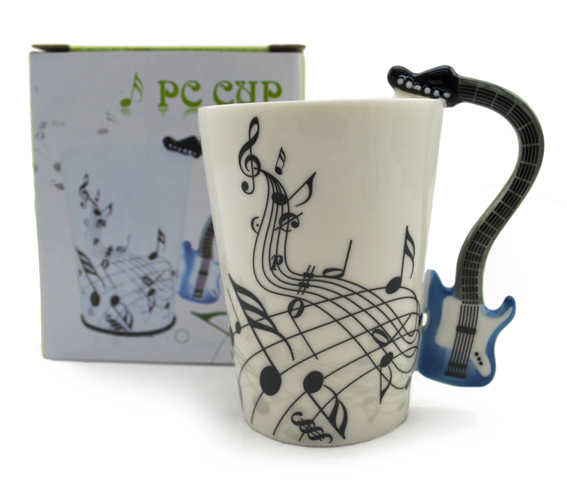 Ceramic Electric Guitar Handle Mug - Original Source