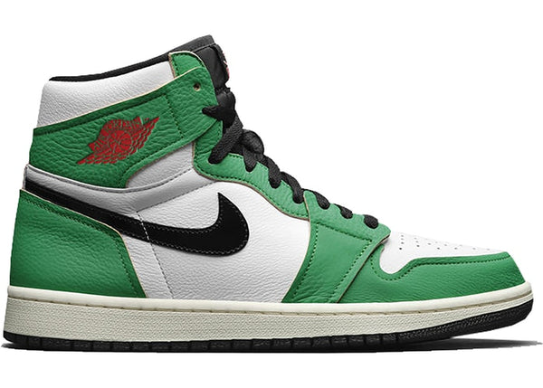 jordan 1 Lucky Green woman