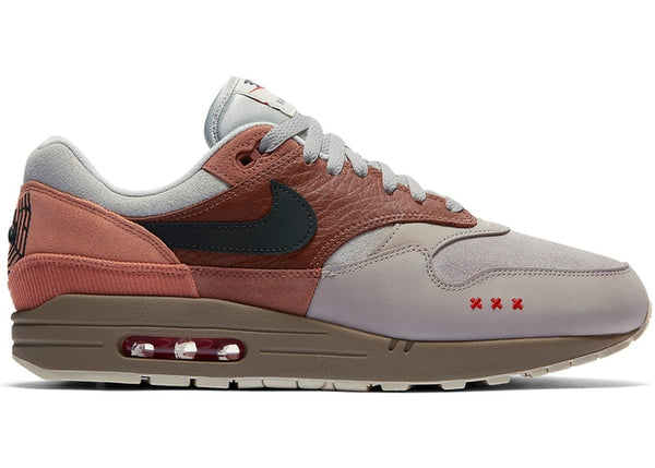 Air Max 1 Amsterdam Red Bark