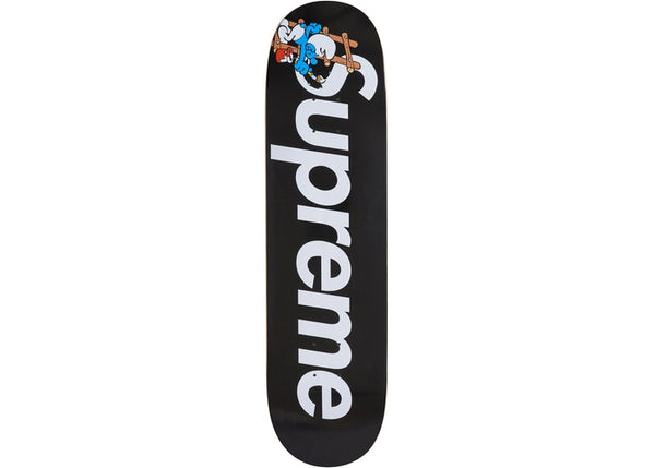 Skateboard Suprême SMURFS red