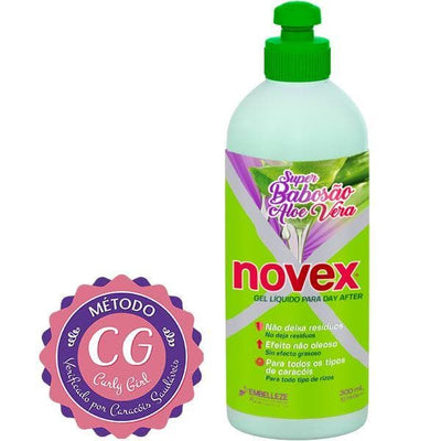 Gel Líquido Day After Novex Super Babosão Aloe Vera 300ml