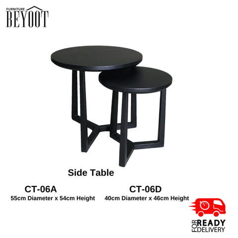 BYT- center TABLE-Black