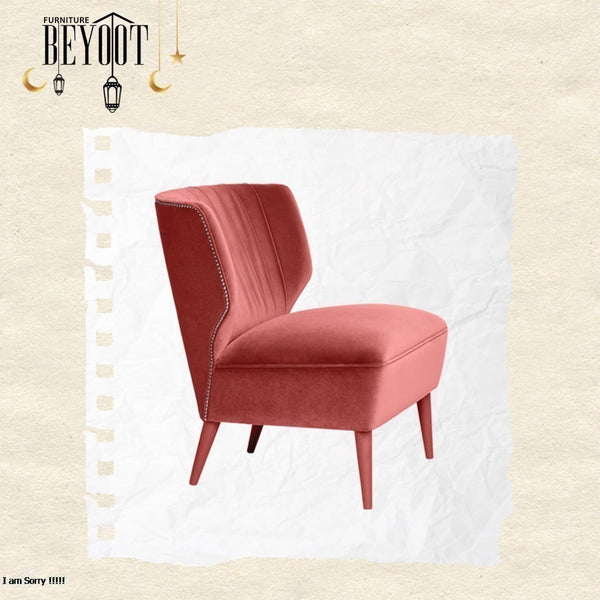 Bey.ACH-06 Side Chair-Pink