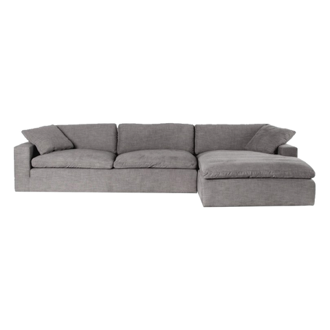 Bey.LS-02 L-Shape Sofa-Gray